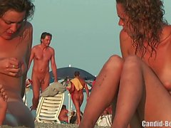Nudist Lesben-Paar-Strand Voyeur Spy Cam HD Video
