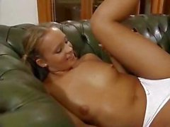 Teen cutie in pigtails get her tail fucked by an older man