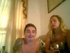 Amatööri eurooppalainen webcam teenie