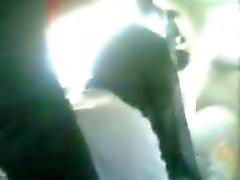 Arab Gangbang - Hijab Girl fucked anal in car and handjob