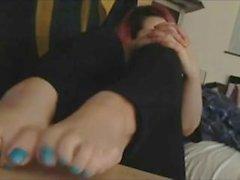 Hot Emo Teens Feet JOI