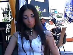 Slave in public