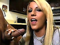 Sexy slut fucked hard by monster cock