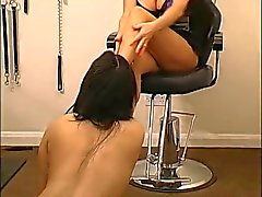 lesbian foot slave used by mistress
