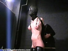 Sensory deprived slaveslut Cherry Torn