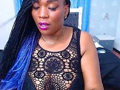 webcam büyük göğüsler ile Sıcak abanoz