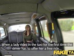 Fake Taxi Hot Australian brunette in heels