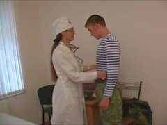 Russian Mature Lera as Hot Nurse
