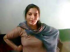 Симпатичный реальном пакистанская Патан Выставляет ее теле