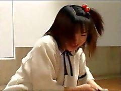Du Groupe L'écolière du Japon Strap On baise un gars