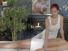 Massage Rooms Young perfect bodied lesbians lick suck and fuck