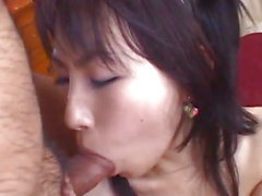 Yukine Fujishiro in nylons rides stiffy