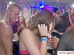 Amateur reality party skanks club orgy