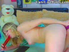 Girl On Girl Skinny Chick Teases 01