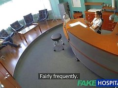 FakeHospital Sexy nurse heals patient with hard office sex