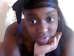 Webcamz Arkiv - Ebony 18yo Slampa på webcam