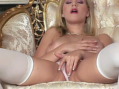 Solo miela-marry-queen with blue sex-toy has enjoyment
