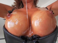 Abigail Mac Oiled Up And Screwed