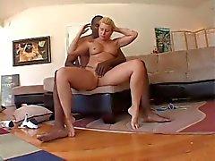 Sexy Bikini Blonde Milf swallow all Bbc Cum