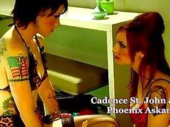 Cinematica artistico Lez Home di quattro , per tatuaggio Chicks