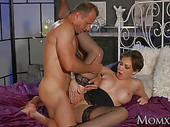 Cookie slamming Office mother I'd like to fuck in nylons