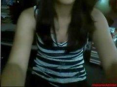 # 0384 - Skype kız eğleniyor