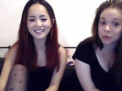 Gigantic boobs lesbian has fun with lesbian sister