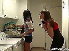 Teen lesbians kissing
