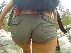 hiking booty