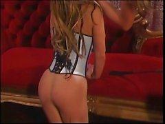 Tyler Faith in sexy lingerie with a slut