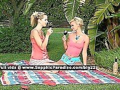Soyunmak Aneta ile Jenny güzel lezbiyen kızlar