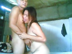 Evelyn Rubite filipino hard fucking with old man