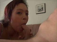 Bedroom hardcore with asian lily thai