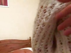 Lesbian sluts in fishnet stockings fisting