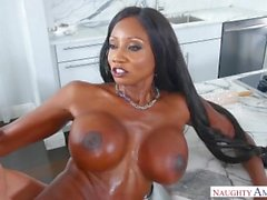Black Step mãe Diamond Jackson, hardcore fuck