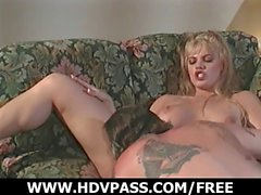 Older dude fucks gorgeous blondes.
