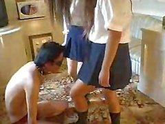 foot worship asian girl china?