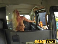 FakeTaxi - Stunning blonde with deepthroat blowjob