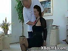 Prepotente Bondage de Milf Juegos fetichistas