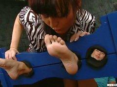 Sandra adorava os pés de Jana Cova