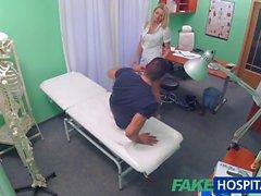 FakeHospital Nurse eases studs ball pressure