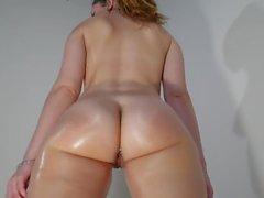 Большой смазанный пузырь задницу попой встряхивания закрыть