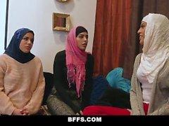 BFFS - Smokin' Hot Poonjab Girls Fuck In Their Hijabs