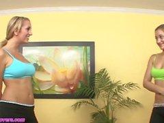 sesso aerobico con Brett Rossi e Dani Daniels