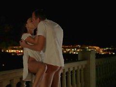 Hot Couples Fucks On The Balcony