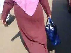 Hijab Abaya Candid : 017