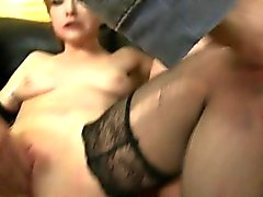 Horny Secretary Gobbles On Big Cocks Of Her Bosses