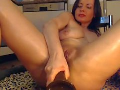 Squirt while anal masturbation
