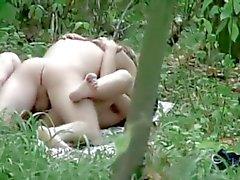 Per e Jag såg ett par i skogen !
