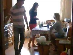 Walk barefoot Russian girls